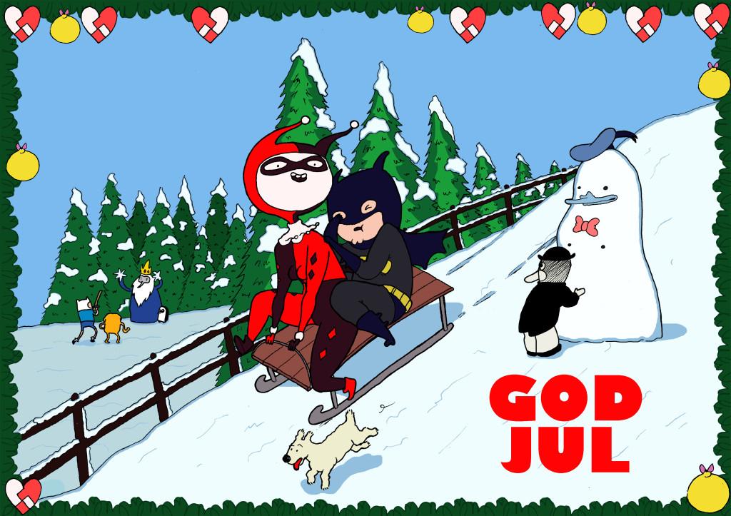 Julekort v. Stine Spedsbjerg