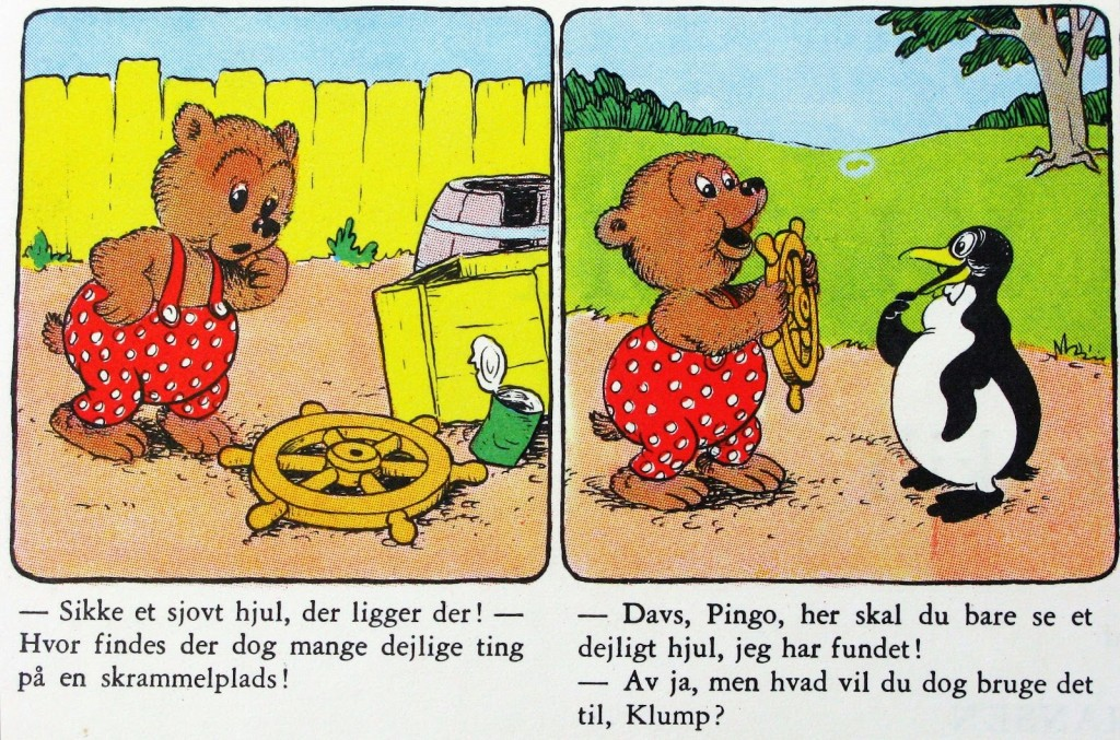 Rasmus Klump byg