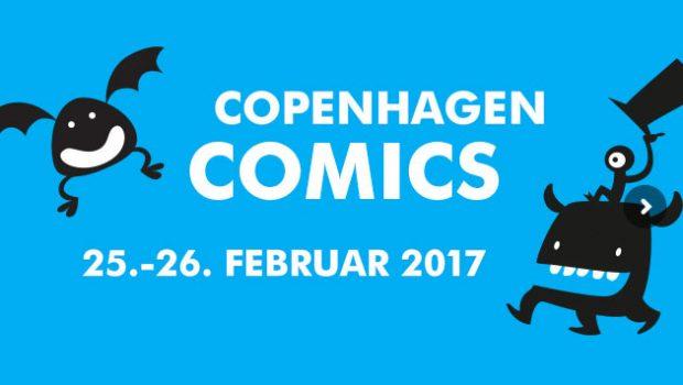 Tegneseriefestivalen Copenhagen Comics afholdes den 25. og 26. februar 2017 i Øksnehallen i København.