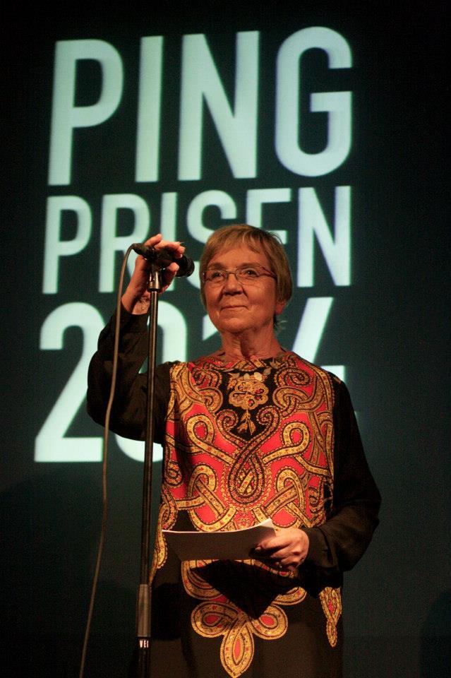 Kulturminister Marianne Jelved til Ping! Foto: ALexander Almegaard