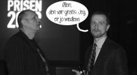 Vi giver den første til Danmarks sjoveste prisfest den 7. juni (hvis du altså er medlem af Dansk Tegneserieråd).