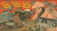 Hip hoppen møder tegneserien og sød musik opstår. Mød den amerikanske tegner Ed Piskor til jam i Ideal Bar!