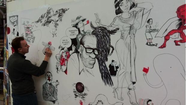 Tegneserieområdet rejser sig for tredje gang på årets Bogforum. Større og stærkere end nogensinde!